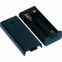 China 2 x AAA Battery Holder with Cover on sale