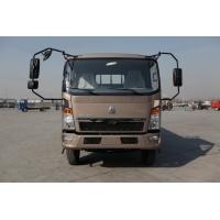 HOWO 4x2 Light Duty Commercial Trucks Fuel Saving Brown Color 160hp 8.2t Rear Axle for sale