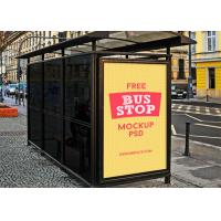 Wholesale Floor Standing Digital Signage Totem 86 Inches Bus Shelter Advertising from china suppliers