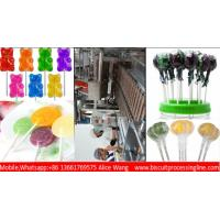 Buy cheap A to Z Lollipop production line 300kg/h assorted shaped lollipop line Candy from wholesalers