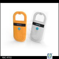 Buy cheap ISO11784 11785 Handheld RFID Reader Portable Animal 134.2khz Pet Microchip from wholesalers