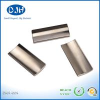 China Accurate Angles N35 Neodymium Magnets For Motor / Generator 12.4 - 13 KGs Remanence on sale