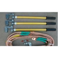 Wholesale 35KV Voltage Electric Security Tools Copper Ground Rod JDX With Earth Clamp from china suppliers