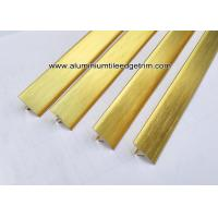 Buy cheap T20 T Shaped Aluminum Extrusion Decorative Profiles / Strips For Door Brushed from wholesalers