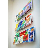 China China Factory hot design acrylic book display stands / acrylic L shaped stand for Book for sale