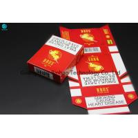 Wholesale Ivory Paper Custom Cigarette Case , 25 Pcs Tobacco Packaging King Size from china suppliers