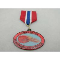 Iron / Brass / Copper / Zinc Alloy 2D or 3D Offset Printing Medal for Souvenir Gift