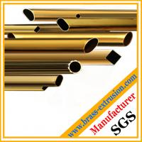 Wholesale hollow brass round square tubes from china suppliers