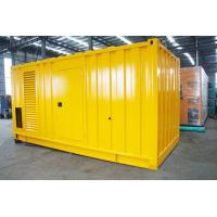 Wholesale Soundproof Silent Diesel Generator Set 2500kva 400 / 230V AC Three Phase Output from china suppliers