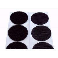 25mm Colored Velcro Dots Velcro Backed Patches 80% Nylon 20% Polyester Material
