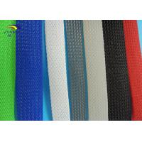 Wholesale Monofilament cable protection expandable braided sleeves / pet expandable cable sleeving from china suppliers