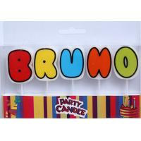 Wholesale Multi-colors Letter Candles (ZMC0049) from china suppliers