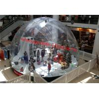 Wholesale market city inflatable snow globe , giant inflatable snow globe , dubai plastic snow globe from china suppliers