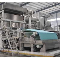 Wholesale High speed high quality 30ton per day model 2850mm Crescent former tissue making machine from china suppliers