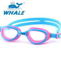 China Novelty Watertight Kids Swim Goggles Clear Vision For Girls Water Sports Competition on sale