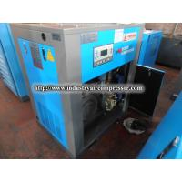 Energy - saving air cooled double screw air compressor blue color  6.5m³ 45kw