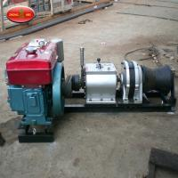 China High Quality Lifting equipment Double Capstan 5T Cable Pulling Winch for sale