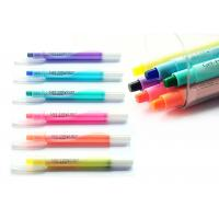 Wholesale High End Multi Color Highlighter Set , Highlighter And Pen In One from china suppliers