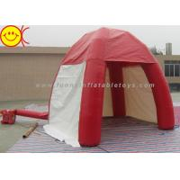 Best Mini 3m Inflatable Dome PVC In Red Tent With Door For Outdoor Lawn Event wholesale