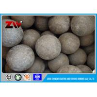 Wholesale Large Hot rolling SAG mill grinding balls for Cement Plant , DIA 150 mm from china suppliers