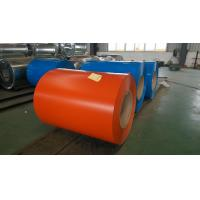 Customized Zinc coating Color Coated Steel Coil SPCC , SGHC Grade 0.23  ~ 1.0mm Thickness