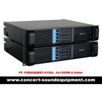 4 Channel Switch Mode Amplifier 4 x 1300W FP 10000Q For Line Array Speakers In Concert