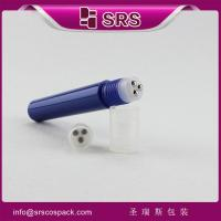 Wholesale blue plastic bottle with three steel ball from china suppliers