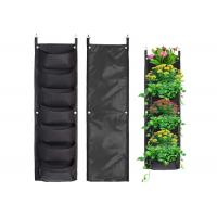 Wholesale Vertical Hanging Wall Felt Garden Planter With Roomy Pockets For Herbs Or Flowers from china suppliers