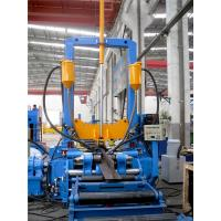 Buy cheap H beam assemblying welding and straightening machine  Automatic 3 in 1 H beam productions line from wholesalers