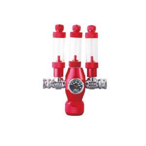 Wholesale Inlet pressure 5MPa Screw Thread G1/2 / W21.8 Aquarium CO2 Regulator from china suppliers