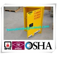 Best 4 GAL Small Industrial Safety Cabinets With Door For Chemical Flammable Liquids wholesale