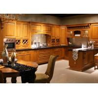 Best Espresso Coffe Color Traditional Kitchen Cabinets With Quartz Countertops Solid Wood wholesale