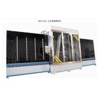 China Automated Vertical Glass Washing Machine With Special Brushes Electrostatic Painted on sale