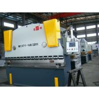 China WC67Y 1600 KN Nominal Pressure hydraulic sheet metal press brake bending machine on sale