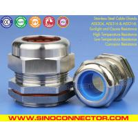 China Cable Glands Stainless Steel AISI304 with Fluorine Rubber Seals IP68 Cable Gland Joints Stainless Steel SS316/SS316L on sale