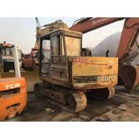 Quality Original Paint Second Hand Excavators , Mini Used Caterpillar Excavators E70B for sale