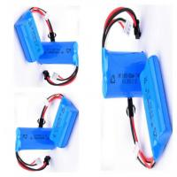 Wholesale 7.4V 650mah 14500 Rechargeable Battery For Robot Device , High Energy Density from china suppliers