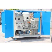 Above 30 MVA Transformer Oil Filtration Machine Automatic Defoaming System for sale