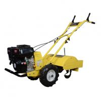 Quality 6.5hp Manual Gasoline Power Tiller , Garden Hand Cultivator Customized Color for sale