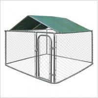 Wholesale Galvanized Heavy Duty Chain Link Dog Kennels Durable 10'L*10'L*6'H Size from china suppliers