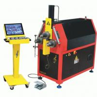 Buy cheap CNC Exhaust Pipe Bender Machine High Accuracy Roll Hydraulic Bending Machine from wholesalers