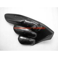 Quality carbon fiber motorcycle parts carbon fibre exhaust heat shield guard for MV Agusta F3 Brutale Dragster
