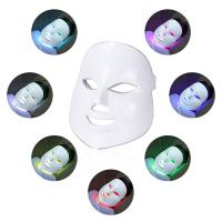 China Facial Skin Care Anti-Aging Beauty Machine 7 Color LED Face Mask for sale