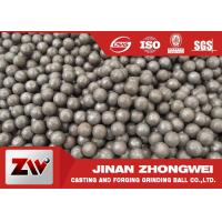 Wholesale Hot rolling B2 matrial  SAG mill grinding balls for Cement Plant from china suppliers