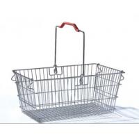 Wholesale Single Handle Stainless Steel Shopping Baskets Rust Preventing Custom from china suppliers