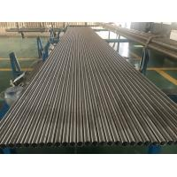China Incoloy Alloy 825 seamless pipe , Nickel Alloy Pipe ASTM B 163 / ASTM B 704, 100% ET AND HT-Tubo de Níquel de aleación for sale