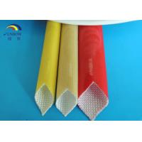 Wholesale Customized Polyurethane Sleeving / Fiber Glass PU Varnished Sleeve from china suppliers