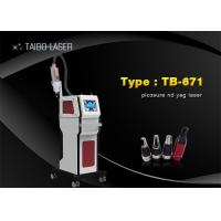 Wholesale 755nm Nd Yag Laser Tattoo Removal Machine For Skin Whiten / Pigmentation Removal from china suppliers