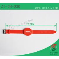 Buy cheap RFID Soft PVC wristband tag (Watch Band Clasps, Product model: ZT-CH-030) from wholesalers
