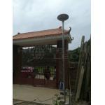China 30W Smart UFO all in one integrated solar LED garden light, 360 degree lighting solar garden light, HT-SG-UFO30 for sale